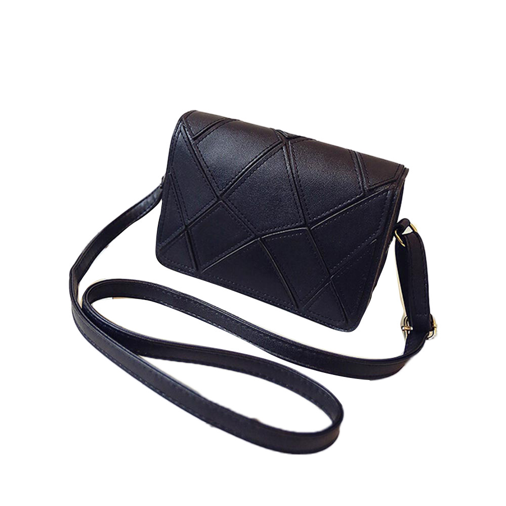 New Arrival Fashion Simple Women Leather Stitching Handbag Cross Body Single Shoulder Phone Bag Retro Messenger Bag Bolsas Mujer<br><br>Aliexpress