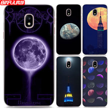 BiNFUL Hot Sale Fantasy Earth moon Theme Thin Clear phone shell Case Cover for Samsung J310 J510 J710 J1 2016 J2 J5 J7 Prime(China)