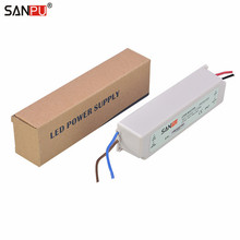 Clearance SANPU LED Power Supply 700ma 35w IP67 Constant Current Switching Driver 110V 220V AC-DC Lighting Transformer Plastic