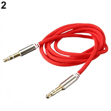 3.5mm Male to Male Car Aux Auxiliary Cord Stereo Audio Cable Wire for Phone iPod  7BC3