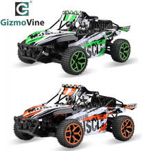 GizmoVine RC Car 1/18 Hobby 2.4G 4CH 4WD Rock Crawlers Double Motors Drive Buggy Remote Control Car Model Off-Road Vehicle Toy(China)