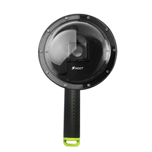 Sports Camera Fisheye Diving Cover XTGP258 Dome Port for SHOOT Brand Lens Cover Waterproof for GoPro Hero3+/4 FW1S(China)