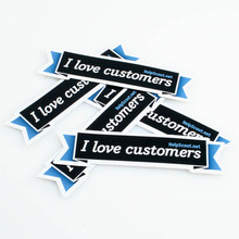 Competitive price Customized high quality vinyl sticker cutting sticker for car parking bumper sticker printing ---DH13316(China)