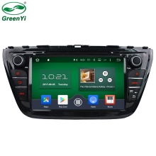 GreenYi 2G RAM 8 Core Android 6.0 Car Audio Fit for SUZUKI S-CROSS 2014 2015 DVD Player Head Device Multimedia Stereo Radio Unit(China)