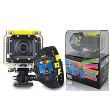 CAMSHOT Waterproof  Wifi Outdoor Sport  Action Camera  RF smart remote watch underwater parachute Diving Helmet Cameras