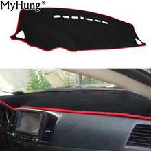 Fit For Mitsubishi Lancer EX 2008 To 2016 Dashboard Cover Dashmat Dash Mat Pad Sun Shade Dash Board Cover Carpet Car-Styling(China)