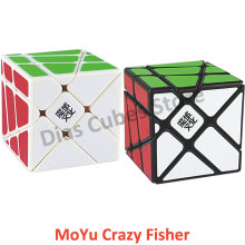 2015 Brand New YongJun YJ Moyu Crazy YiLeng Fisher 3x3 Cube Speed Puzzle Educational Toy Special Toys