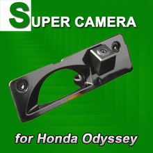 For Sony CCD Honda Odyssey Car Rear View Parking Reverse Back Up car camera good image HD waterproof car styling camera(China)