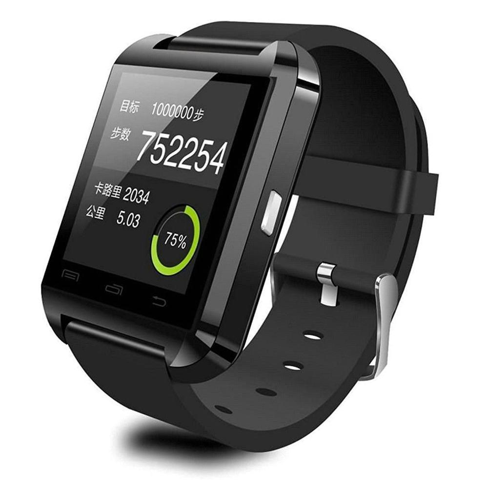 Cheap Smart Watch Support Passometer Music Answer Phone Call Message Reminder Altitude Install App for Smart Phone 2017 Fashion(China)