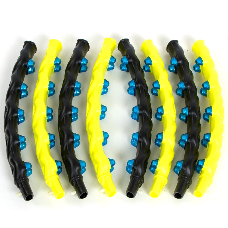 Magnetic Hula Hoop Detachable 7 8 Part Double Row Fitness Massage Exercise Sport