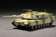 TRUMPETER  07279  1/72  M1A2 Abrams MBT  Assembly Model kits scale model  3D puzzle vehicle model