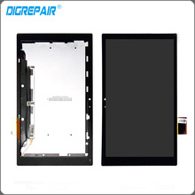 Black 10.1'' LCD For Sony Xperia Tablet Z SGP311 SGP312 SGP321 LCD display touch screen digitizer Replacement ,Free shipping(China)