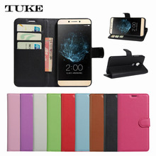 For BlackBerry DTEK60 , Luxury Litchi Wallet PU Leather Phone Case for Black Berry DTEK60 Cove
