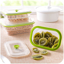 1 Layer Lunchbox Bento Food Fruit Storage Container Microwave Cutlery Foldable Silicone Refrigerator Box Lunch Box Sealed Box