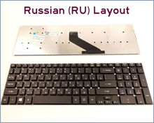 Keyboard RU Russian Version Acer Aspire E1-572 E1-572G E1-731 E1-731G E1-771 E1-771G E1-570-6615 E1-532G Laptop - Shanghai SIWSON Co.,Ltd store