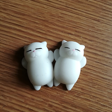 AJP 2pcs White Cats Vent Novelty Toy Anti Stress Gags & Practical Jokes Animal Cute Cat Children Gift Toys