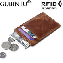Buy Geniune Leather Rfid Blocking Documents Short Minimalist Male Men Wallets Porte Carte Pochette Credit Card Cases Cardholder for $4.98 in AliExpress store