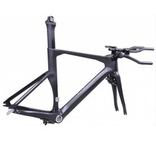 highend Monocoque 700c carbon TT bike carbon frame timetrial bike carbon frame bicycle frame Di2 compatible