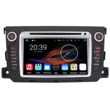 "7"" Octa Core Android 6.0.1 Car Radio DVD Navigation Central Multimedia for Mercedes Benz Smart Fortwo 2011 2012 2013 2014"