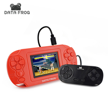 Classic Portable Handheld Video Game Consoles Kids Handheld Game Player Built-In 380 Games Support Double Battle With Gamepad