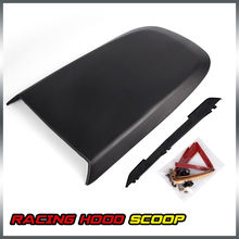 US Shipping Front Racing Style Air Vent Hood Scoop For 2005-2009 Ford Mustang GT V8 Black(China)