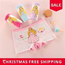 Buy 4pcs/ lot Cotton Girls Underwear 2018 New clothing Panties Cartoon Princess printed Baby Briefs Boxer Underpants