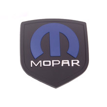 BBQ@FUKA 3D Metal Mopar logo Emblem badge Styling Sticker Fit for dodge ram charger challenger