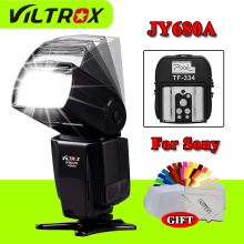 Viltrox JY680A JY-680A LCD Universal Flash Speedlite & Pixel TF-334 Hot Shoe Adapter For Sony Mi Camera convert to Canon Nikon
