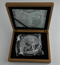 2014 Chinese Panda commemorative silver coin 1kg with COA and box for collection free shipping(China)