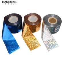 1 Roll Pro Nail Foil Stickers Decals 1Roll 4CM*110-120M Popular Multicolored DIY Starry Sky For Nails Art Decoration