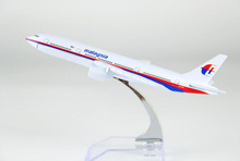 plane model Boeing 777 Malaysia Airlines aircraft MH-370 Metal simulation airplane model for kid toys Christmas gift