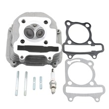 "GOOFIT Cylinder Head 2.5"" tall 150cc GY6 Engine with Gasket part MOTORCYCLE ACCESSORY Group-20(China)"