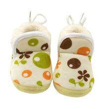 Newborn Baby Boots Winter Warm Bootie Infant Toddler Soft Bottom Anti-slip Shoes Prewalker