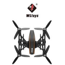WLtoys Q373 High Speed Headless Mode Plane Helicopter 2.4G 6-Axis RC Radio Remoto Contral 4 Drive Motor 4WD Mini Air Toy Gift(China)