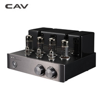 CAV T-6a HI-FI Tube Audio Amplifier EL34 Five Pole Power Tube Home Theater HIFI Amplifiers 2.0 Channel 14W HQ Tube Amplifier(China)