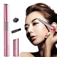 LADY  ELECTRIC SHAVER BIKINI LEGS EYEBROW TRIMMER SHAPER HAIR REMOVER  GIFT