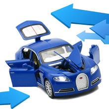 1/32 Scale Alloy Bugatti Veyron 16C Galibier Car Toys For Children Red Diecast Car Model Kids Toys Gift Collection