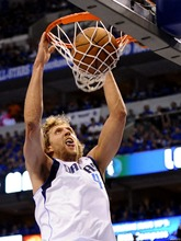 Dirk Nowitzki Dunk Dallas Mavericks Basketball Art Huge Poster TXHOME D5656