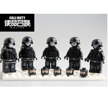 Building Block Duty Call 5pcs/lot Military Series Swat Gun Army Brick Arms For City Police Mini Dolls Children X'mas Gifts Toy