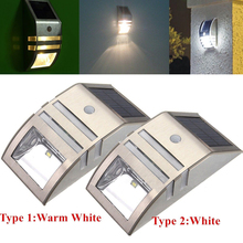 Buy 2 LED Solar Power PIR Motion Sensor Wall Light Waterproof Energy Saving Security Lamp Home Garden Outdoor Street Yard Path for $3.49 in AliExpress store