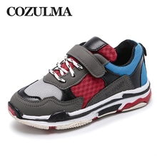 Buy COZULMA 2018 Spring New Children Fashion Sneakers Boys Girls Outdoor Casual Shoes Mesh Breathable Kids Hook & Loop Sports Shoes for $11.89 in AliExpress store