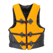 life vest NEW life jacket fish boat Water Sport Survival Whistle fishing jacket  Outdoor Professional  orange yellow L XL XXL