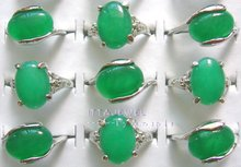 wholesale 50pcs Imitation Jade Rings,Free Shipping