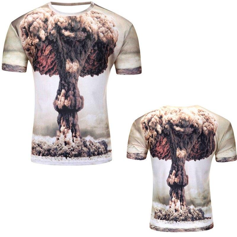 12 Color 3d print Lightning cat t shirt 15