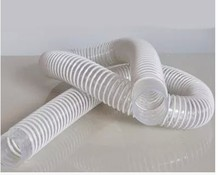 Dust in vacuum line mechanical wood plastic pipe spring empty Cyclone dust collector tube tube inside diameter 50 mm * 3 M