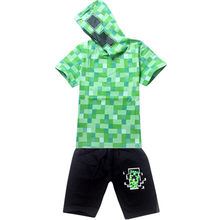 2PCS Suit Baby Boy Clothes Children Summer Toddler Boys Clothing set Cartoon 2017 New Kids Fashion Kids Cotton Sets