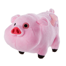 1pc 16cm New Arrival Cute Gravity Falls Pink Pig Waddles Plush Toy Kids Love Doll kawaii(China)