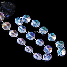 Buy 30M Top Garland Diamond Strand Acrylic 10mm Crystal Bead Wedding Party Decoration, Beads Curtain, Free for $15.47 in AliExpress store