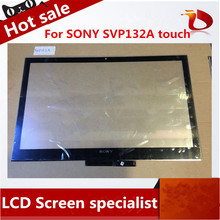 High Quality 13 inch For SONY Vaio Pro13 SVP132 SVP132A SVP13 Touch Screen Digitizer Glass Sensor Replacment Parts