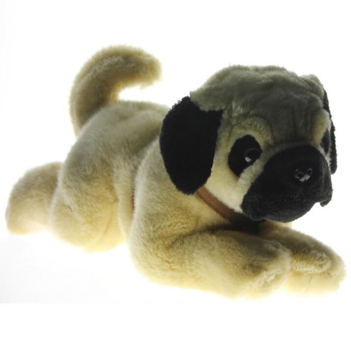 Stuffed Big Animal ChildrenS Toys Plush Pillow  Pugs Doll Simulation Sharpei Dogs<br>